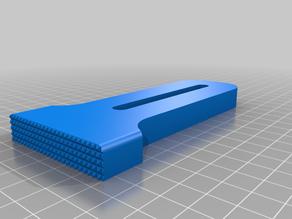 CNC track edge clamp
