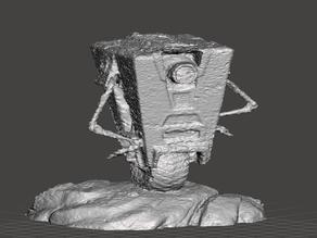 Claptrap rough scan