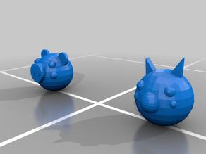 (Piggy) Foxy and Piggy Lego Heads