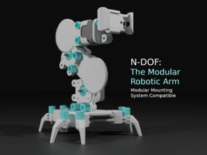 N-DOF: The Modular Robotic Arm