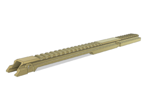 IMF K Airsoft G36 Standalone Low Profile Top Rail