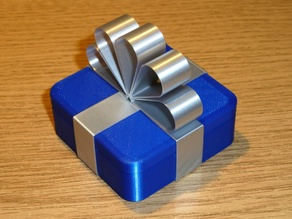 Gift Box - All parts printed in vase (spiral) mode