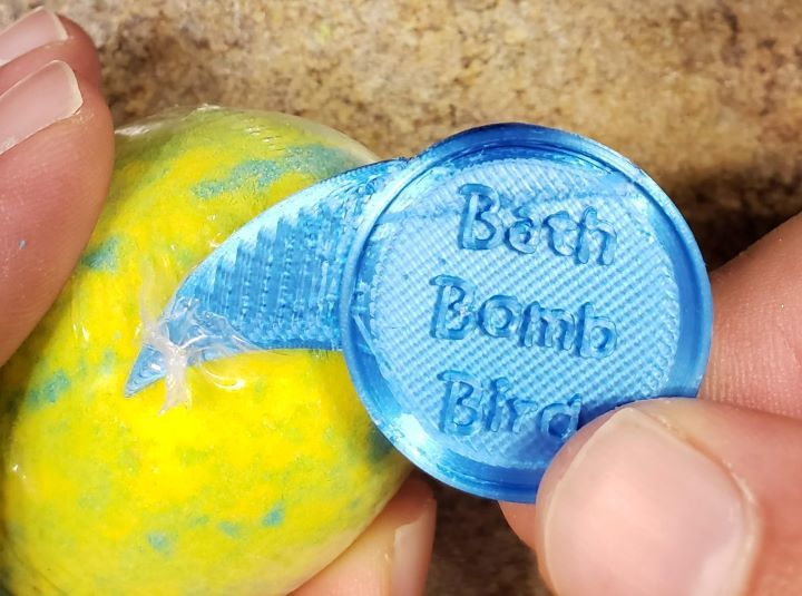 Bath Bomb Bird - The Bath Bomb Opener
