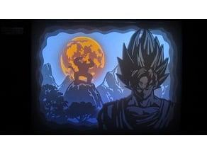 lamp dragon ball ligthbox