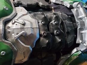 DOOM Slayer Abdominal Armor