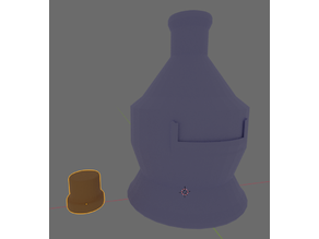 Big Bottle with Label Slot