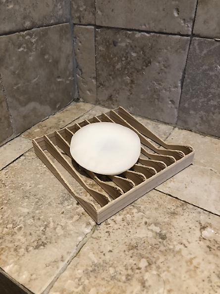 Simple soap holder - easy to print