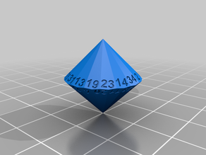 34 sided dice - D34