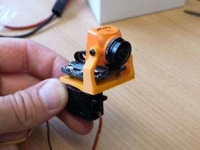 Runcam split mini pan mount