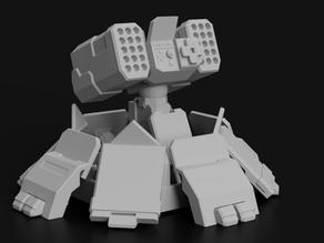 Missile Turret for Battletech
