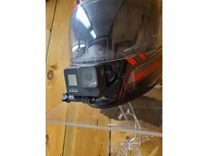 Motorcycle Helmet GoPro Mount
