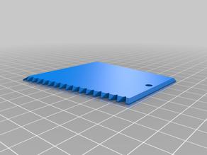 Ice Scraper Keychain / Eiskratzer Schlüsselanhänger