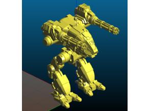 Robot with two gatling guns - Remix