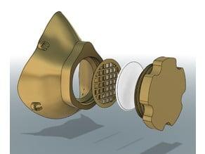 Covid Mask Respirator - 3D Printable COVID-19 (Corona virus)