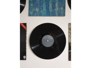 Invisible Vinyl Record Wall Mount