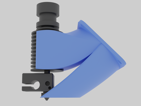 2-in-1 fan duct: Strong clamp remix for E3D V6