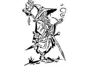 Wizard stencil