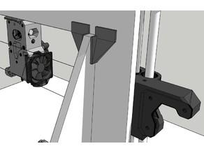 Tronxy Zonestar P802M & Anet A8 Easy Print Top T Corner Frame Reinforcement Bracket