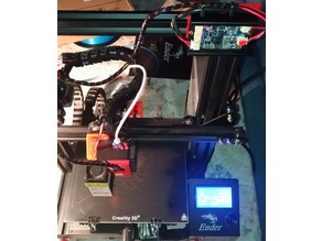 Ender 3 500mW laser mount (bltouch compatible)
