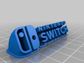 Nintendo Switch 3D LOGO