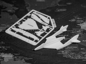 SpaceShipTwo Kit Card