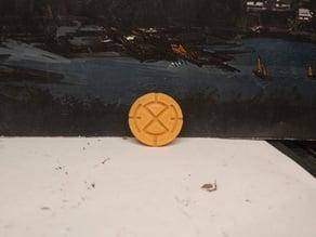 Tau markerlight token, 25mm
