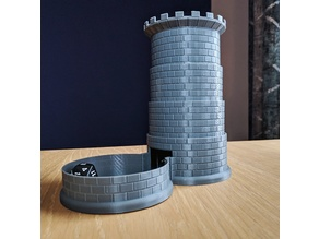Collapsible dice tower