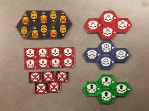 Apocalypse Tokens (for WH40K)