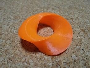 Half torus ring