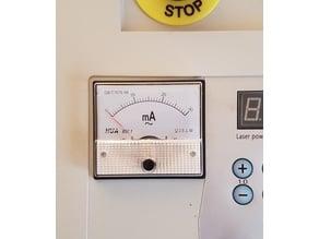 K40 analog mA meter plate