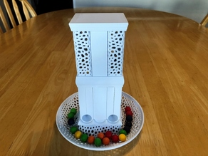 Modular Candy Dispenser - Voronoi Base and Reservoirs