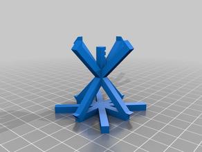 Minimal XYZ Calibration Cube