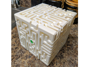 Double Layer Maze Cube