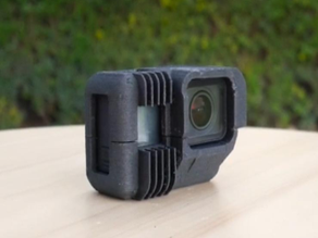 Functional GoPro Hero Case That Also Acts as a Heat Sink