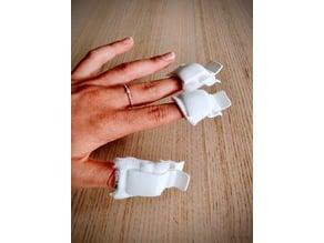Soak off nail clipper