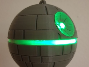 Christmas Tree Ornament - Death Star