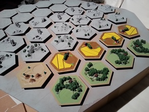 catan-style boardgame 2.0 (remix)