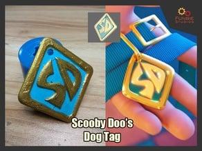 Scooby Doo Dog Tag