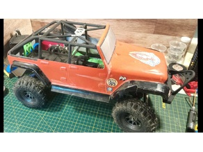 12428 SCX10 Clone Jeep Wrangler Parts