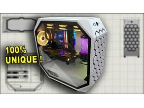 DIY 3D printed PC Case