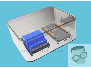 NodeMCU V3 + 2 Relais Module and Sensors