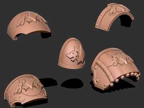 Legion of the Wolf - Marine Upgrade Pack