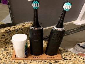 His/Hers Electric Toothbrush holder