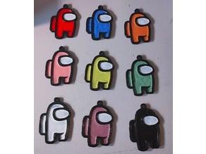 Among Us Keychain