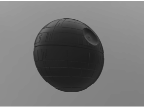 Wall mounted Death Star