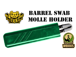 paintball barrel swab molle case pouch holder