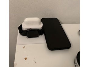 Dock for iPhone (with MagSafe), Apple Watch and Airpods Pro