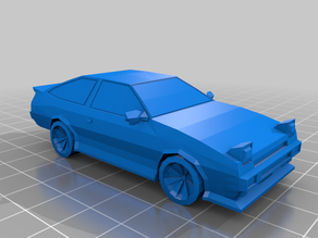 Low Poly AE86