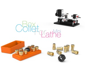 Box Collet for mini Lathe