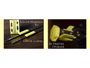 Roller bearing to Linear guide update on Kuongshun K10 (similar to Geectech A10)